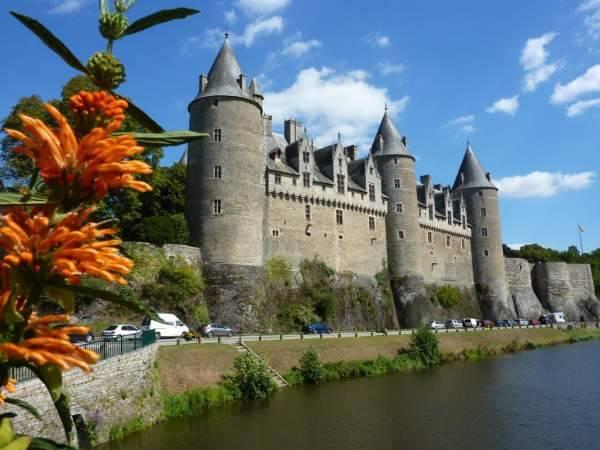 Château de Josselin classé monument historique département Morbihan Bretagne