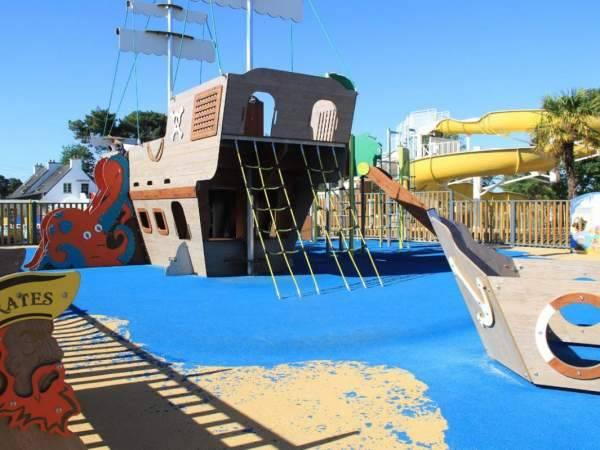 Espace de jeux enfants à Carnac dans le Morbihan